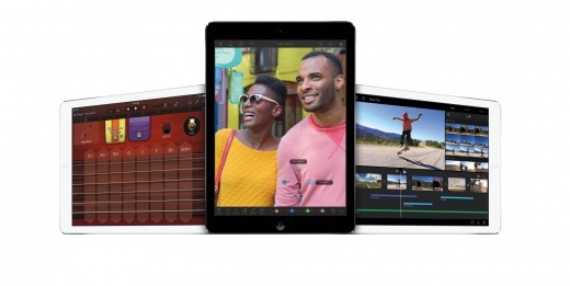 iPad iLife 520x261 Apple updating iLife for iOS and Mac with iOS Photo Books, iMovie Theater, now free with new devices
