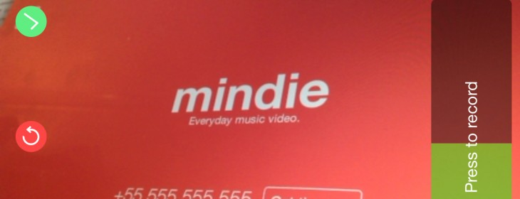 Mindie is like Vine with a pop music soundtrack
