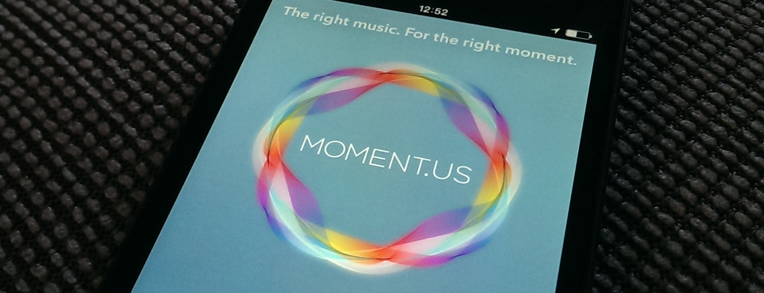 Moment.us for iOS: the Right Song for Right Now?
