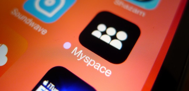 Myspace and its parent company just got acquired by Time Inc.