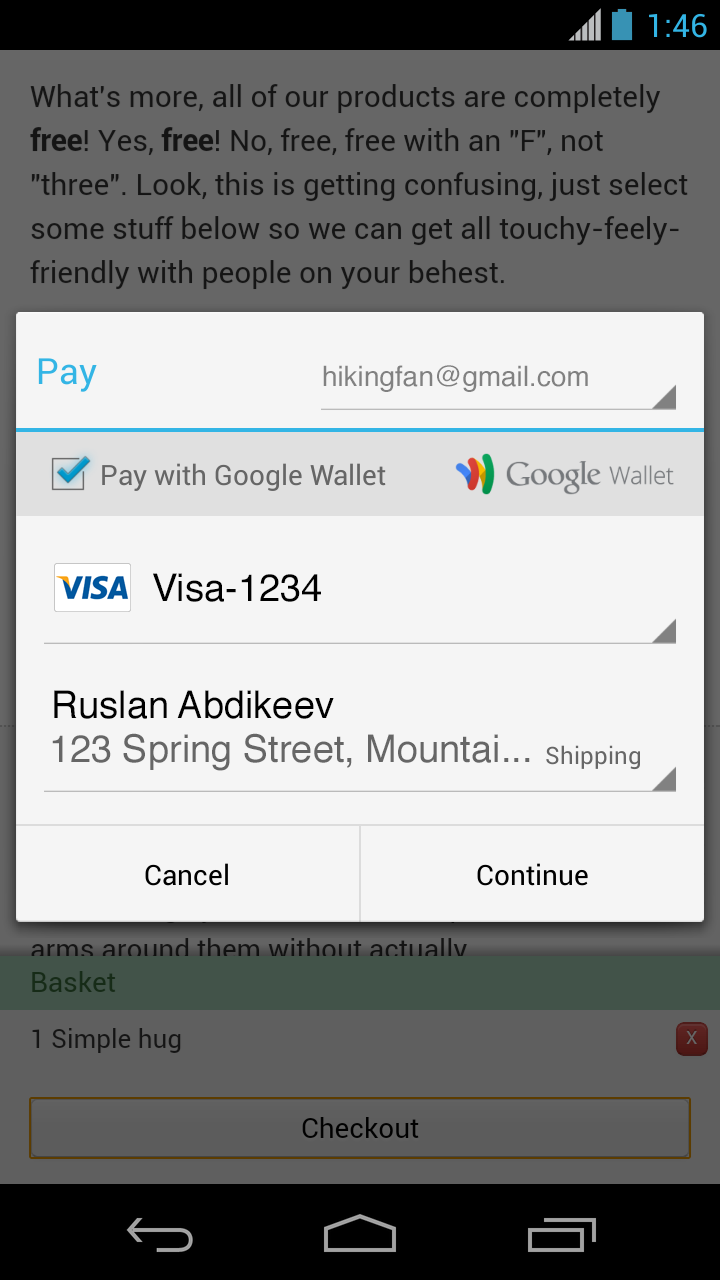 pic5 Google debuts Chrome 31 beta with Web payments, portable native code, and application shortcuts for Android