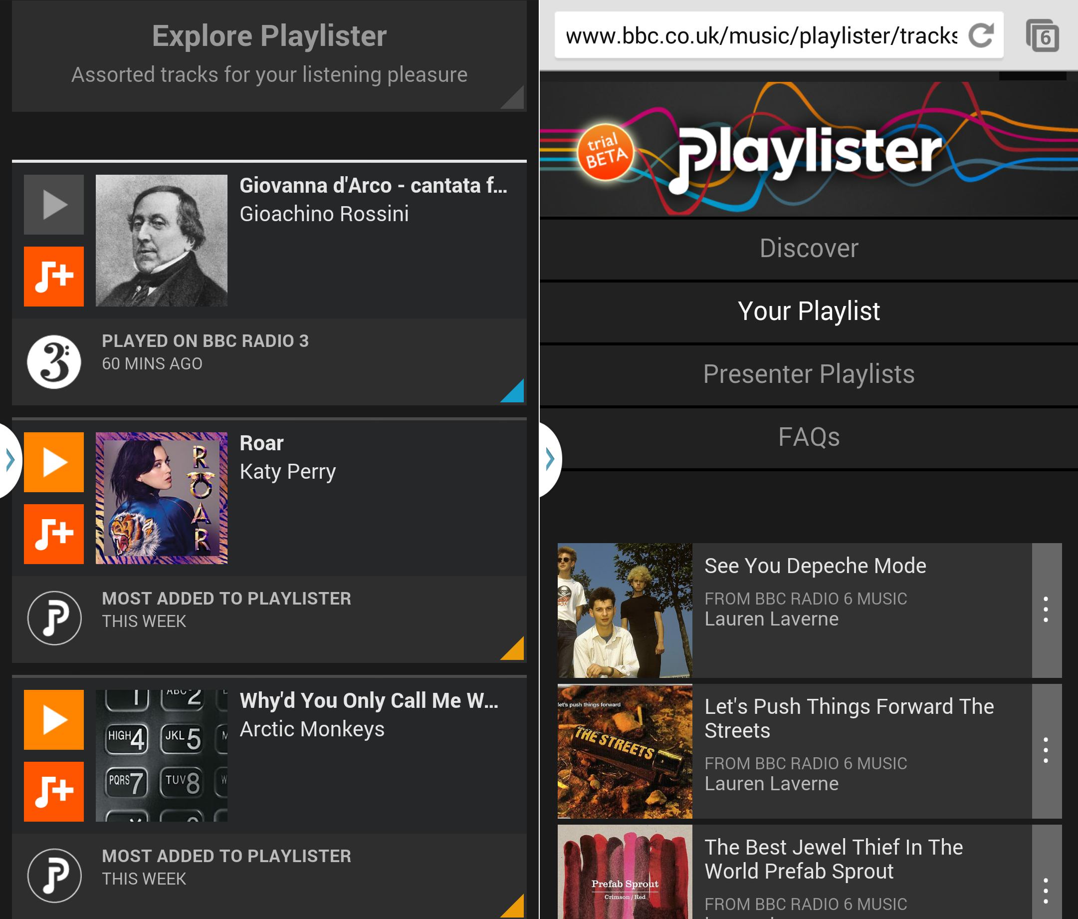 playlister mobile How to use the BBCs new Playlister music service