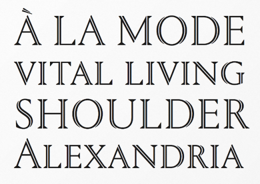 portrait 520x369 20 of our favorite typefaces from this past month
