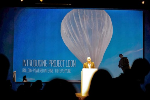 project loon launch event by google
