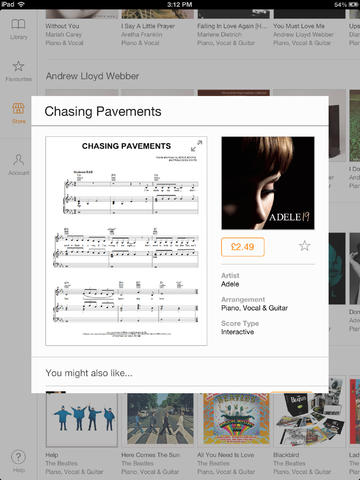Play an instrument? You might like Sheet Music Directs updated iPad app