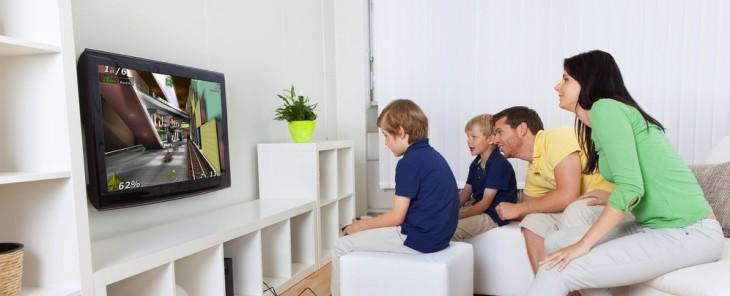 Family TV videogame