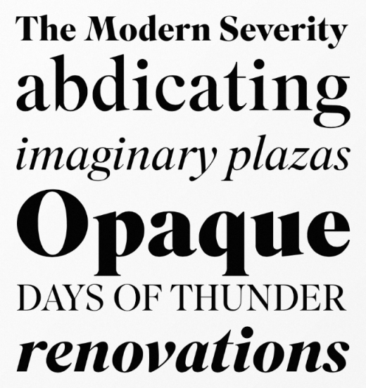superior title 520x552 20 of our favorite typefaces from this past month