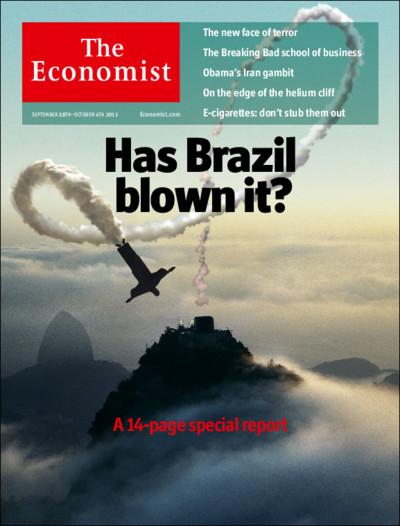 the economist cover has brazil blown it