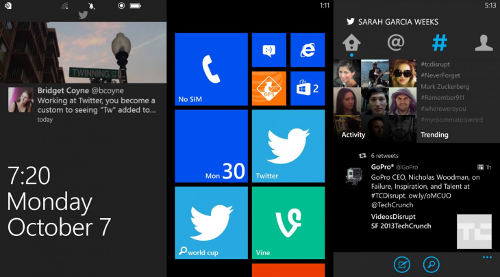 twitter3 windows phone 730x405 Twitter for Windows Phone gets notifications for favorite accounts, dark theme, tweets on home screen, and more