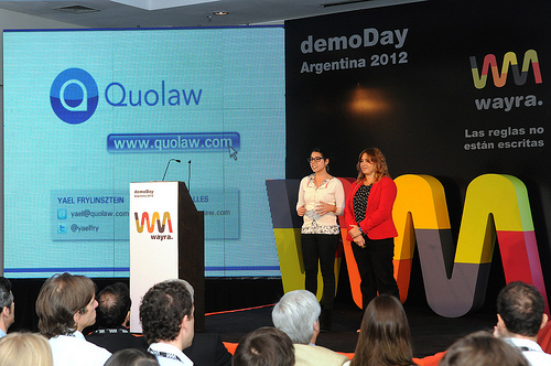 wayra argentina demo day quolaw October in Latin America: All the tech news you shouldn't miss from the past month