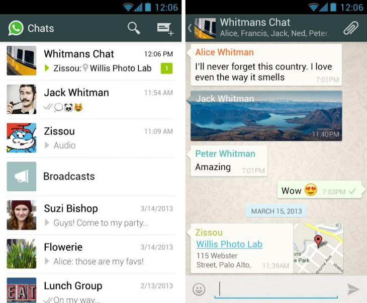 whatsapp 730x602 WhatsApp is leading the mobile messaging battle, but will it win the war?