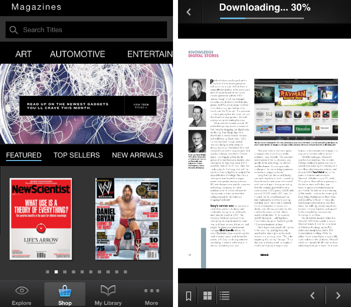 zinio1 10 must have iPhone apps for keeping on top of the news