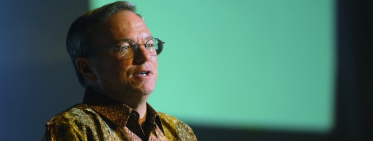 Google chief Eric Schmidt says US spying allegations would be 'outrageous' if true