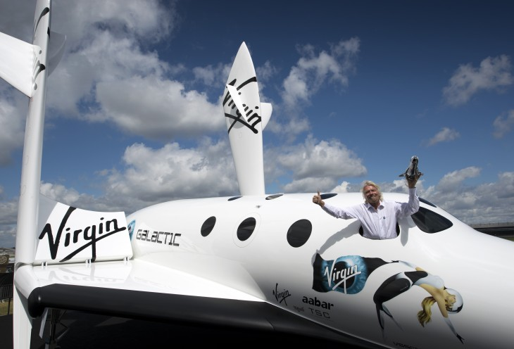 Richard Branson says Virgin Galactic now accepts Bitcoins for its suborbital spaceflights
