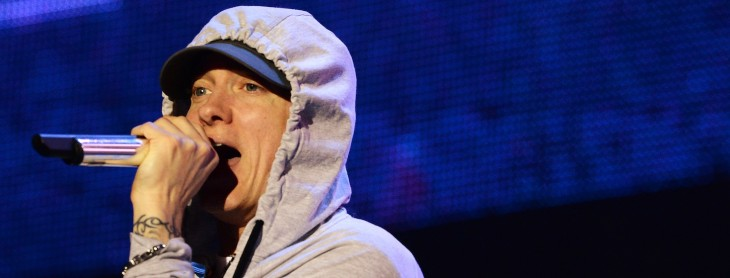 Rapper Eminem takes top gong at YouTube's inaugural Music Awards show