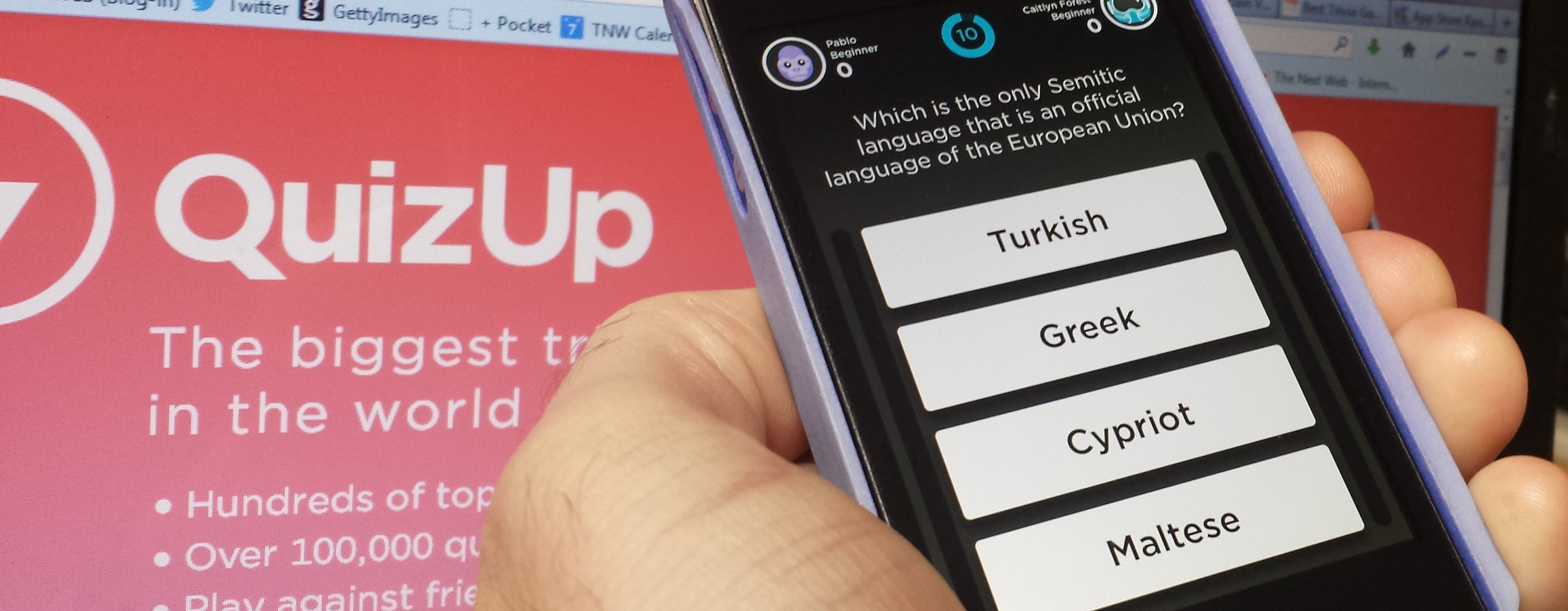 Quizup Trivia App for iOS Now Has More than 5 Million Players