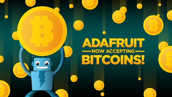 Electronics hobbyist shop Adafruit now accepts Bitcoin