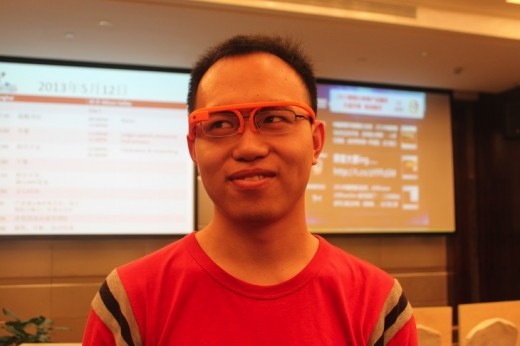 3D printed Google Glass