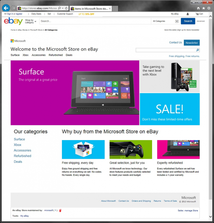 6443.Microsoft Store on eBay Home 4B3DBBB8 730x760 Microsoft Store on eBay opens in the US, offers first party Microsoft products including Surface and Xbox