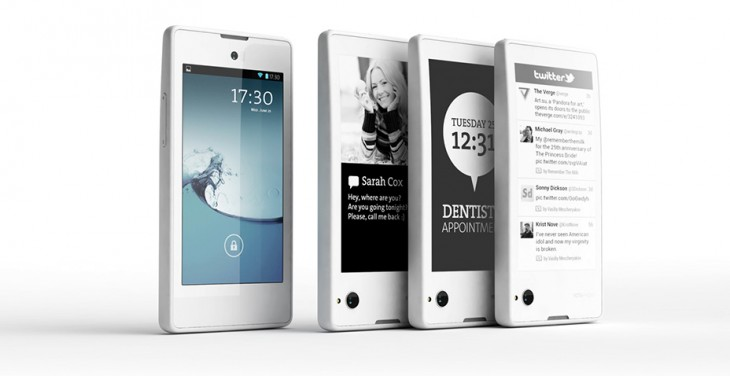 Dual-screen LCD and e-ink display-equipped Android YotaPhone headed to retailers 'before Christmas' ...