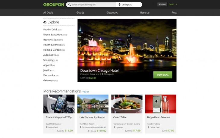 GrouponHomePage