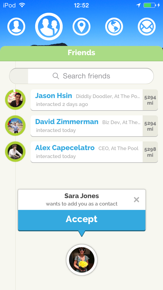 Anti-Facebook' At The Pool Launches an iOS App