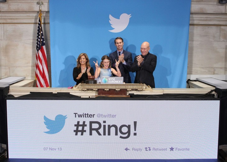 Here's the amazing note 9-year-old Vivienne Harr wrote to Twitter's Stone after ringing the NYSE ...