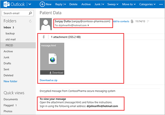 Microsoft's Office 365 Gets Encrypted Emails From Early 2014