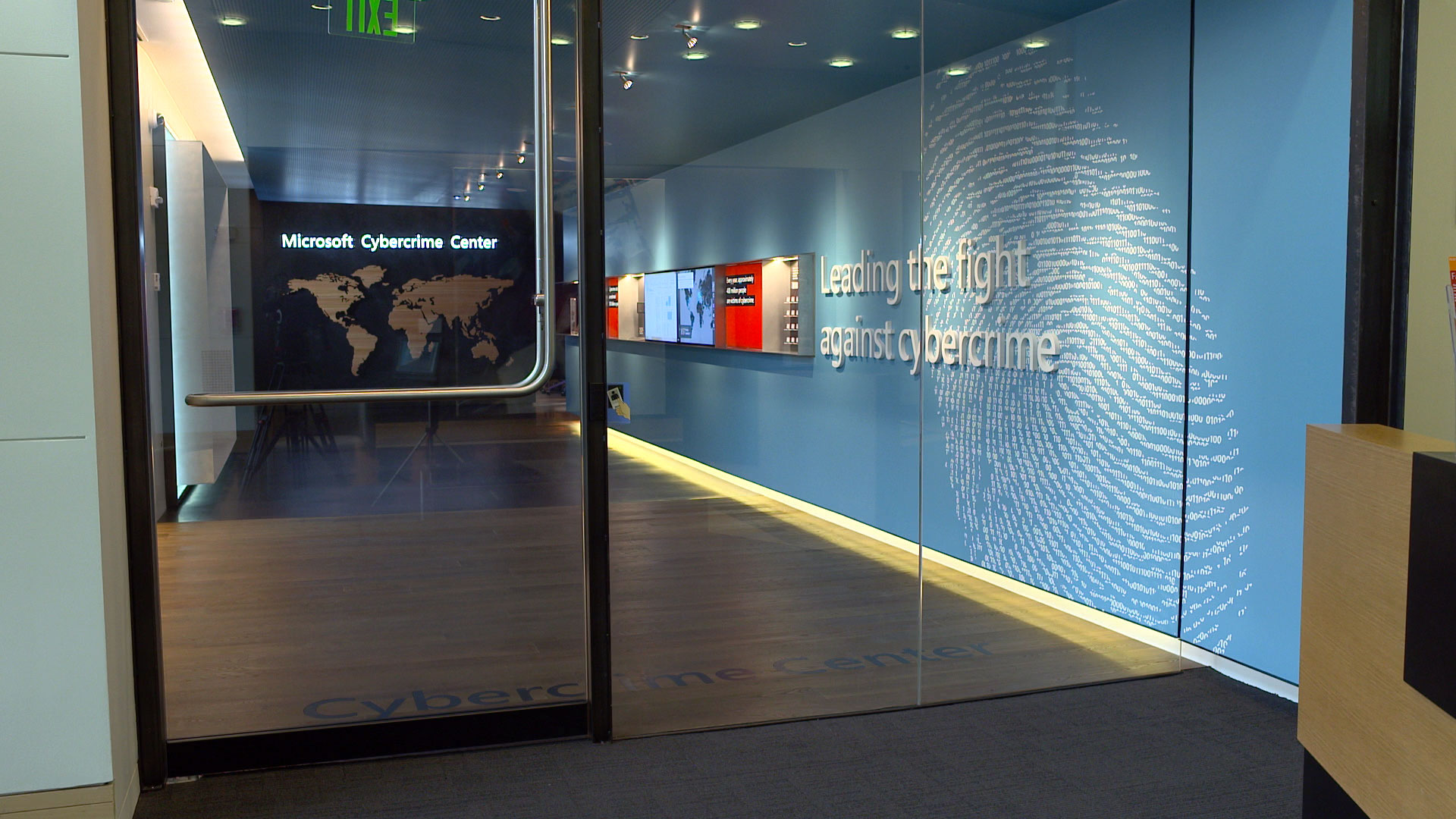 microsoft opens futuristic cybercrime center at its redmond campus