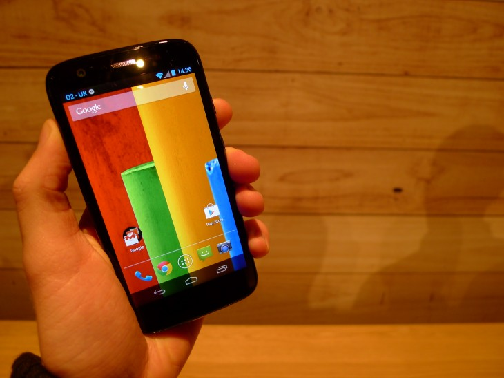 Moto G hands-on: Motorola ignores low-end smartphone expectations with this stylish sub-$200 handset