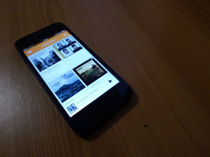 Google Play Music for iOS is now available