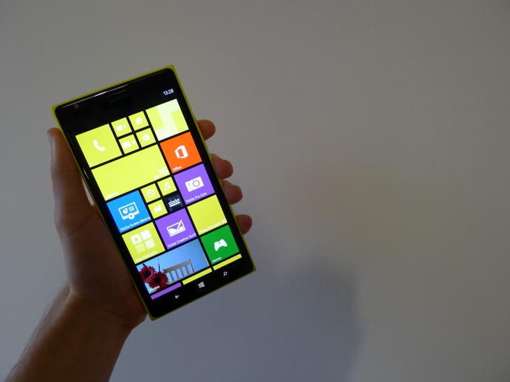 Nokia Lumia 1520: This enormous smartphone offers the best all-round Windows Phone 8 experience