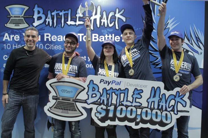 PayPal Battle Hack Finals Winners