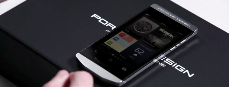 Troubles, what troubles? BlackBerry and Porsche Design launch the P'9982, a souped-up, ultra-premium ...