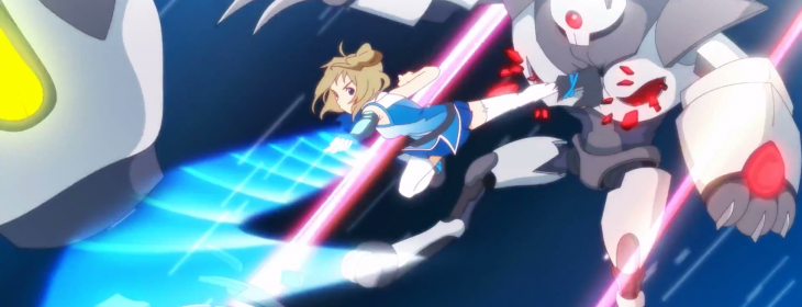 Internet Explorer's new official mascot is Inori Aizawa, a cute robot-fighting anime heroine