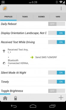 Received Text While Driving Profile