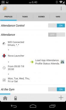 Daily Attendance Profile