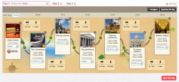 JoGuru Itinerary Planner