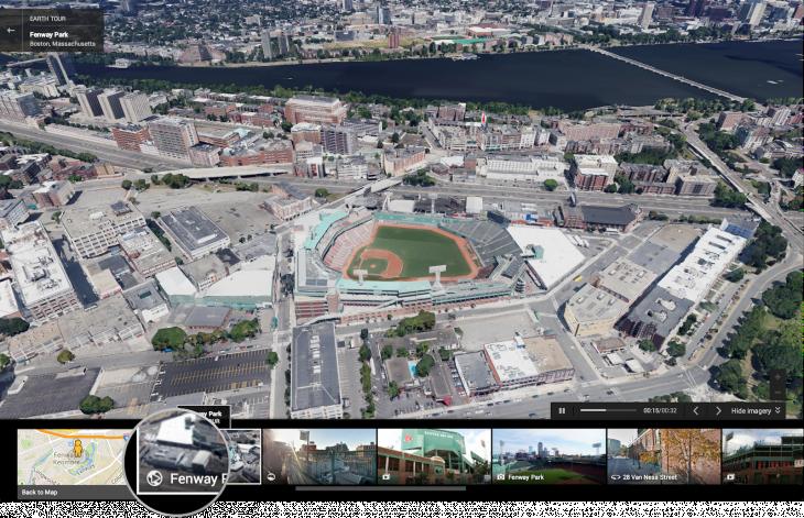 Take a virtual tour of Fenway Park