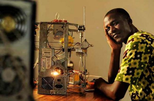 3D printer to aid less fortunate communities