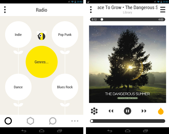 bloom1 30 of the most beautiful and well designed Android apps
