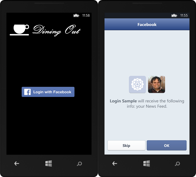 facebook wp Microsoft launches Facebook Login APIs for Windows Phone 8, Windows 8, and Windows 8.1