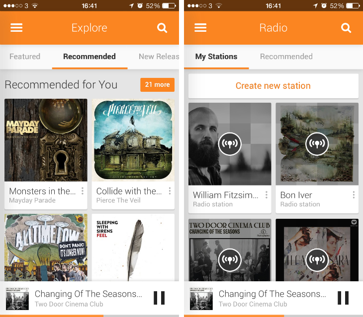 gmusic2 Google Play Music for iOS is now available