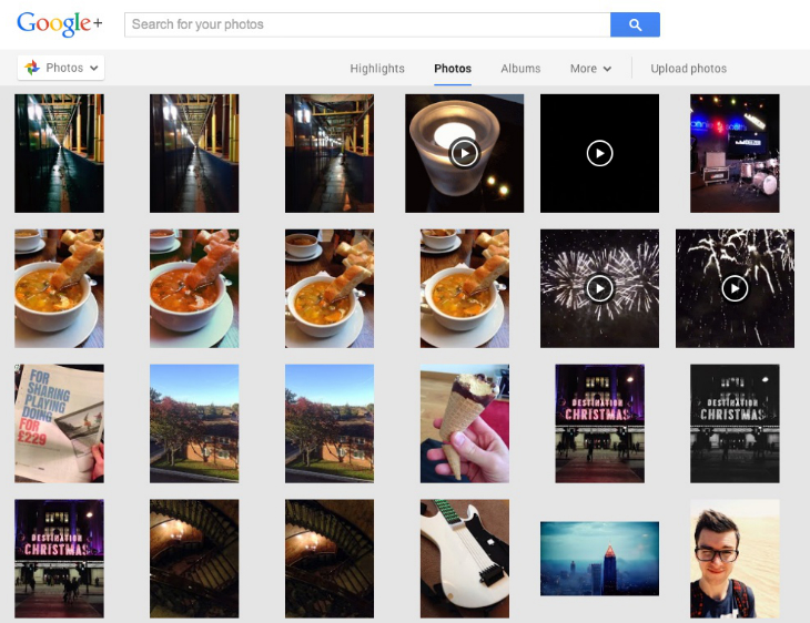 gplusweb1 An in depth guide to Google+ for photographers: Storage, editing, sharing and more