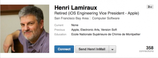 henri lamiraux linkedin retired