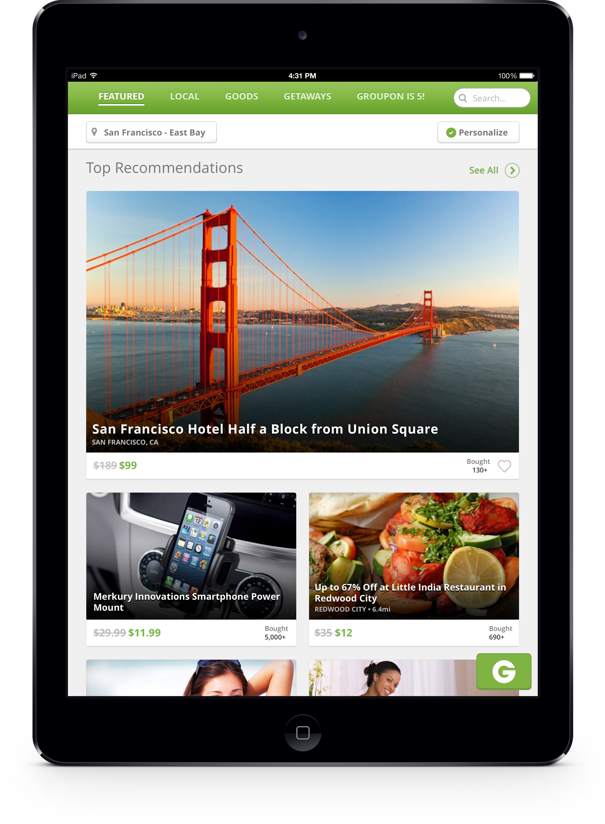 Groupon Revamps Its Website And Updates Mobile Apps