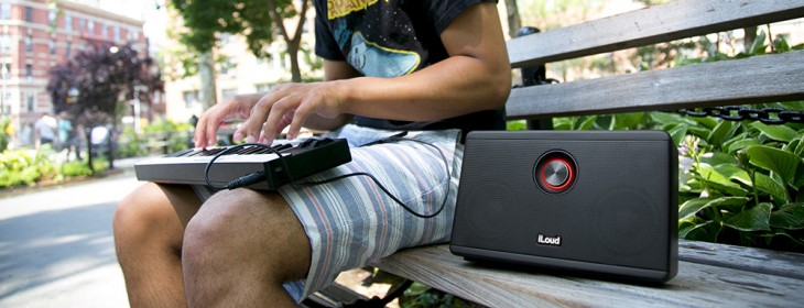 IK Multimedia's iLoud speaker promises to pack a punch for mobile musicians, and it ships today ...
