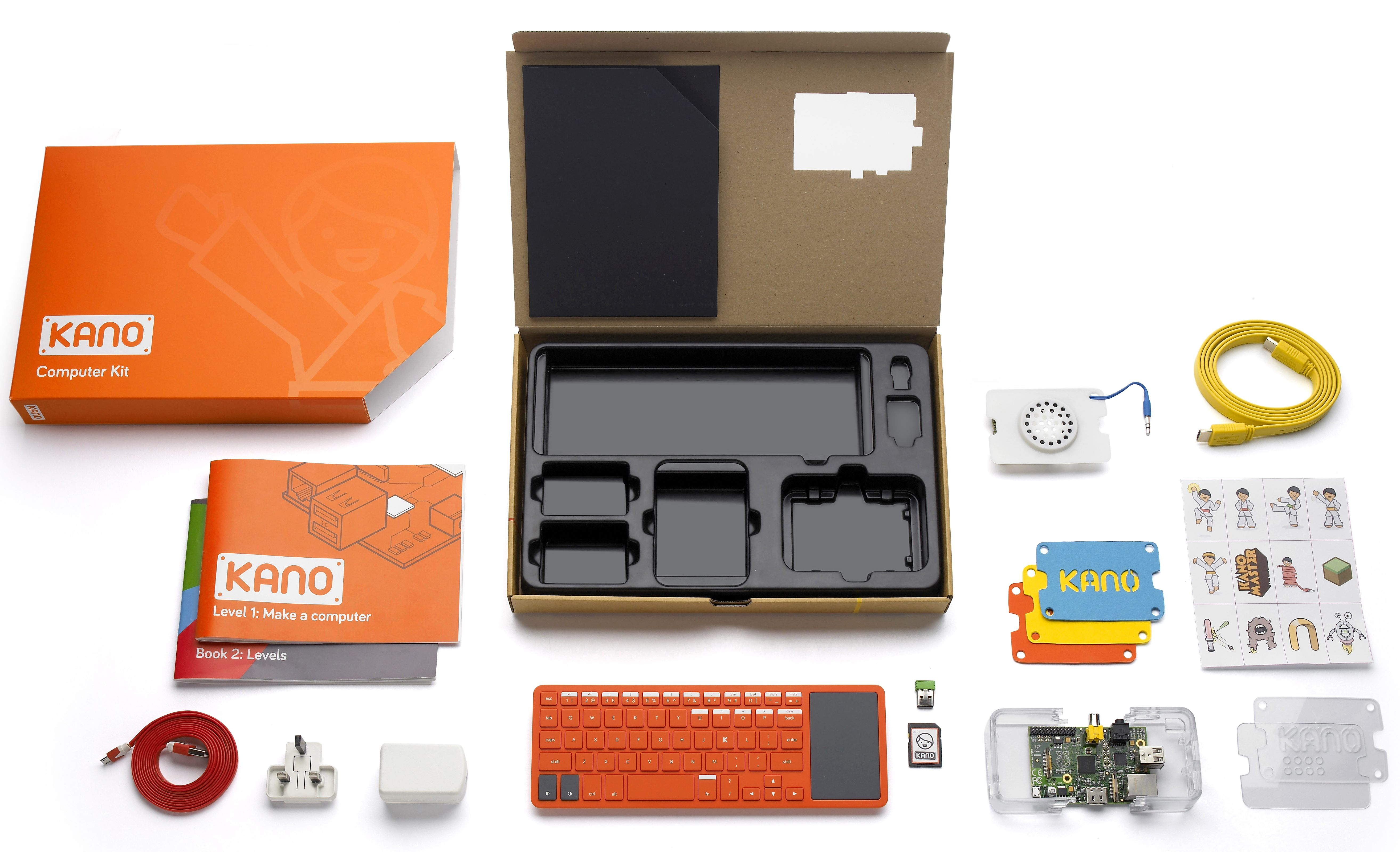 Kano is a 99 diy raspberry pi powered pc building kit Build your own house kit prices