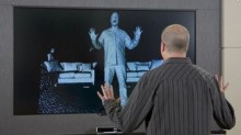 kinect screen example