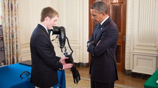 3D printed Robotic prosthetic
